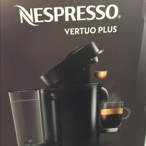 Nespresso Vertuo Plus brand new coffee maker
